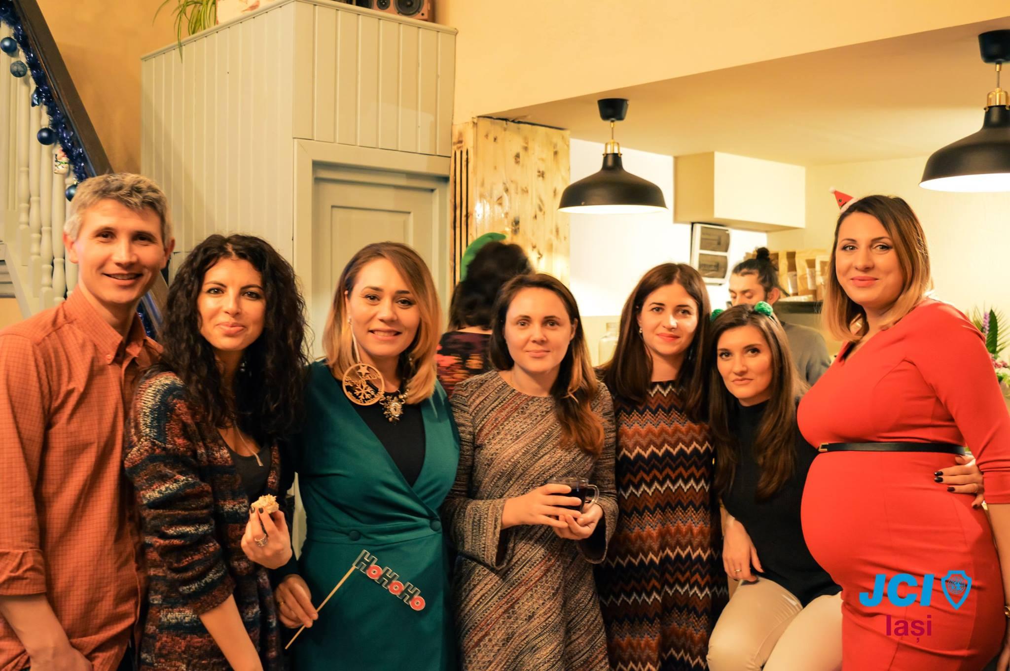 Petrecerea de Crăciun JCI Iași