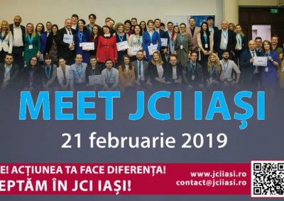 Meet JCI Iași – Acțiunea ta face diferența!